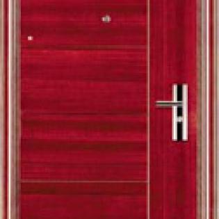 Bloc-porte acier épaisseur 70mm avec cadre acier et seuil incorporé. Modèle ADROUT JC Doors