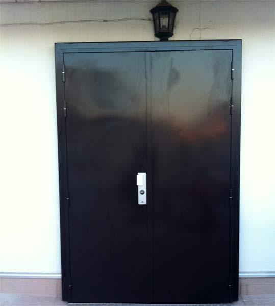 Portes blind es fermelec for Porte 2 vantaux