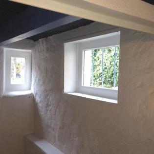 Fenêtre fixe en PVC double vitrage phonique, pose Fermelec à Marseille 13004
