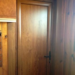 porte fenêtre PVC plaxé chêne doré