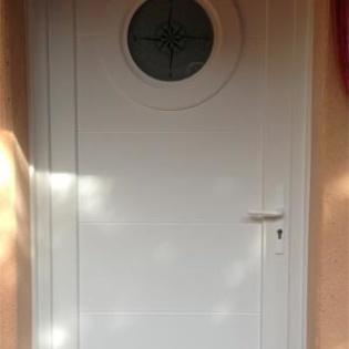 Porte d'entrée en PVC Créal
